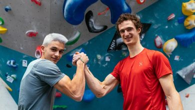 Photo of Adam Ondra e l'importanza di arrampicare con il compagno giusto