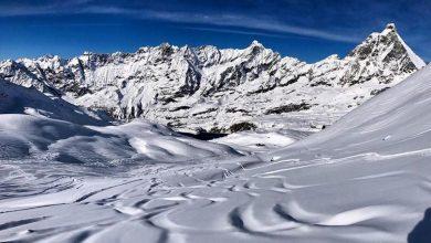 Photo of Breuil-Cervinia. Snowboarder provoca una valanga che invade la pista e fugge