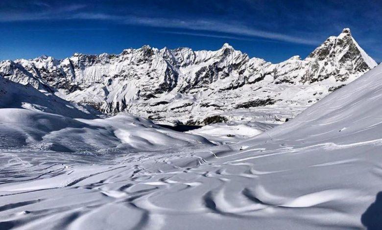 snowboarder, breuil-cervinia