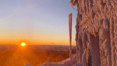Photo of La magia del rifugio dopo la bufera di neve