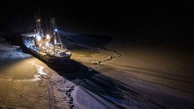Photo of Mike Horn ancora nell'Artico. Il video della Lance in navigazione tra i ghiacci