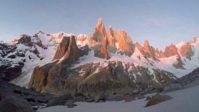 Photo of Patagonia. Solitaria sull'Aguja Rafael per Marcin Wernik