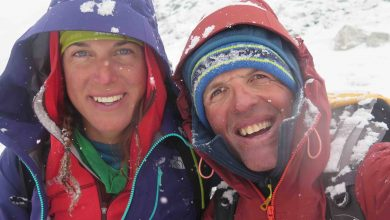 Photo of Simone Moro e Tamara Lunger partiti per i Gasherbrum