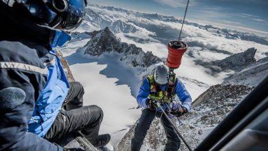 Photo of Monte Bianco. Il video di un salvataggio estremo del PGHM