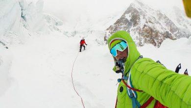 Photo of Tutti fermi tranne Simone Moro e Tamara Lunger. Team del K2 arrivato a Skardu