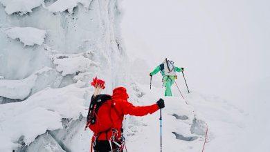 Photo of Invernali, sul ghiacciaio dei Gasherbrum con Simone Moro e Tamara Lunger