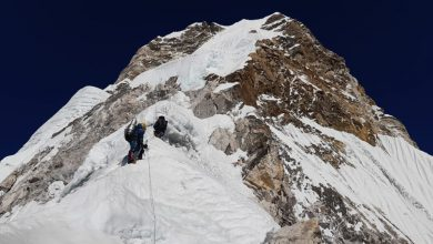 Photo of Txikon verso la vetta dell'Ama Dablam. Broad Peak, condizioni difficili a 7000m