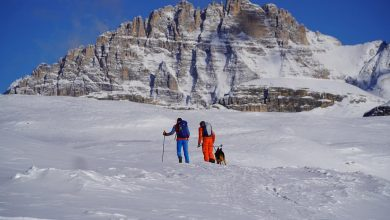 Photo of Team francese e la traversata invernale delle Alpi
