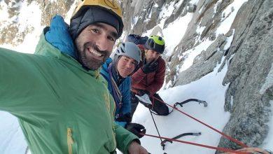"""Photo of """"Le Grand Charme"""". Nuova via sul massiccio del Monte Bianco per il trio Elias-Toralles-Busom"""