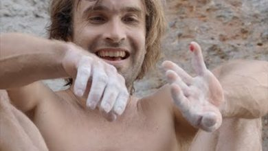 "Photo of Chris Sharma sul Deep Water Solo ""Big Fish"". Il video della prima salita"