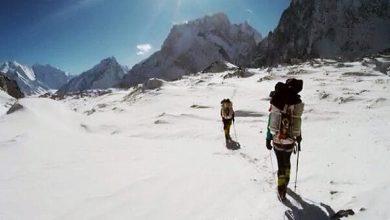 Photo of Urubko guarda ai 7000m del Broad. Mingma G. arrivato al CB del K2. Txikon in azione sull'Ama Dablam