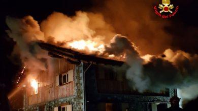 Photo of Valcamonica. Distrutto da un incendio il rifugio Loa