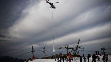 Photo of Francia: manca neve sulle piste, arriva in elicottero