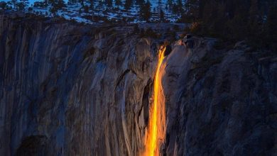 Photo of Yosemite: poca acqua per l'attesissima cascata di fuoco