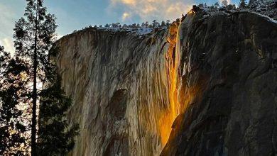 Photo of Yosemite. Lo spettacolare ritorno della Firefall