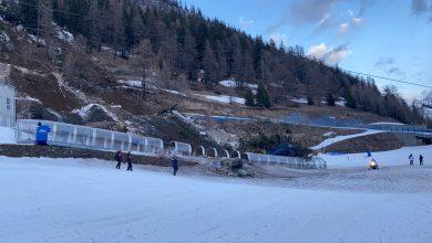 Photo of Courmayeur, frana dal Mont Chetifraggiunge le piste da sci. Le immagini