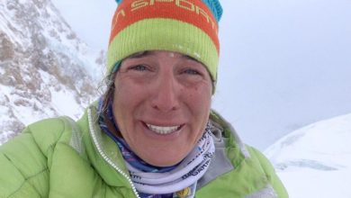 "Photo of Tamara Lunger a un mese dall'incidente ai Gasherbrum: ""Grazie vita"""
