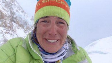 """Photo of Tamara Lunger a un mese dall'incidente ai Gasherbrum: """"Grazie vita"""""""
