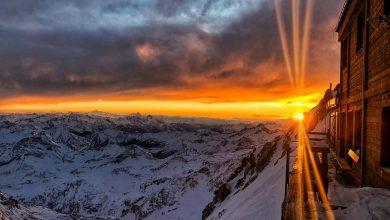 Photo of Un magico tramonto alla Capanna Gnifetti
