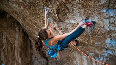 "Photo of Laura Rogora libera ""Corvo Morto"" (8c+/9a) a Ferentillo"