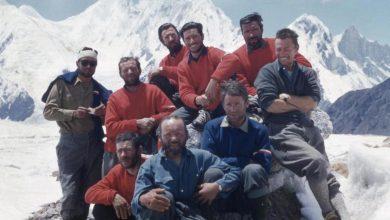 Photo of All'asta per beneficienza il quadro della spedizione del 1958 sul Gasherbrum IV