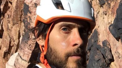 Photo of Incidente in parete per Jared Leto in Nevada con Alex Honnold
