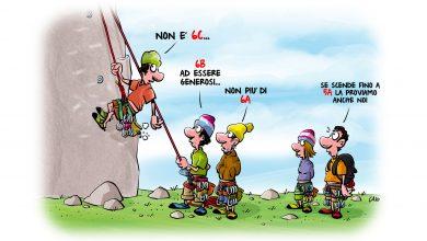 Photo of Una montagna di risate con i fumetti di Caio Comix