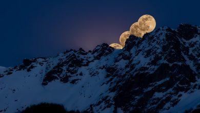 Photo of Le spettacolari immagini della Superluna su Alpi e Appennini