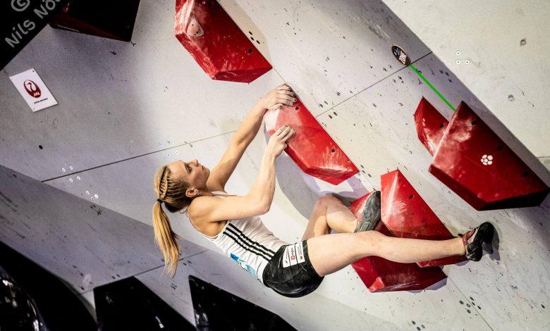 coppa del mondo di arrampicata sportiva