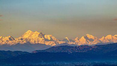 Photo of Nepal in lockdown. Le incredibili immagini dell'Everest visibile da Kathmandu