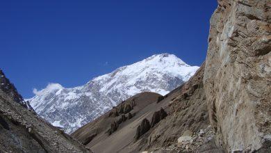 Photo of In viaggio verso il CB sotto la spaventosa parete Nord del Gasherbrum I