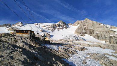Photo of Ai piedi del ghiacciaio – Itinerario Marmolada