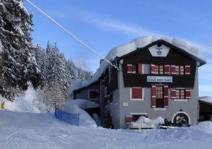 rifugio alpino, monte bianco