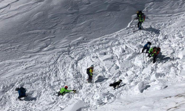 valanga, soccorso alpino, marmolada