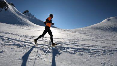 Photo of Franco Collé su e giù dal monte Rosa in tempo record
