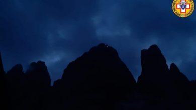 Photo of Recupero in notturna di tre cordate sulla Grande delle Tre Cime di Lavaredo