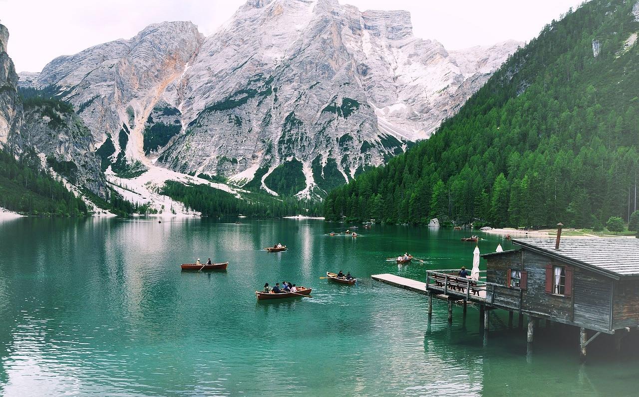laghi di montagna, laghi, braies