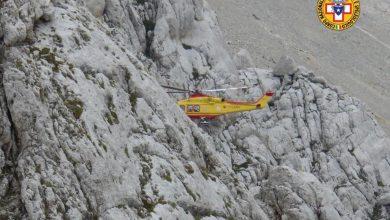 Photo of Spettacolare salvataggio di un alpinista ferito sul Gran Sasso