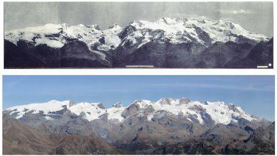 Photo of L'evoluzione dei ghiacciai del Monte Rosa in mostra al Forte di Bard