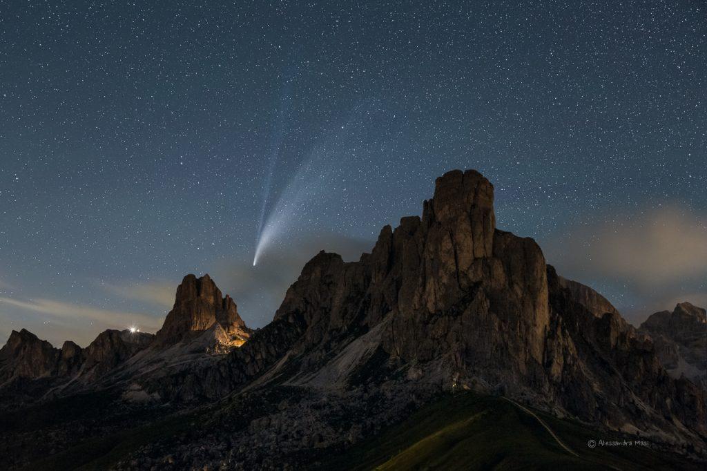 cometa, dolomiti