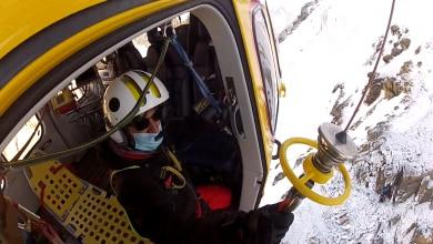 Photo of Dent d'Hérens: alpinista in un crepaccio, intervento del Soccorso Alpino