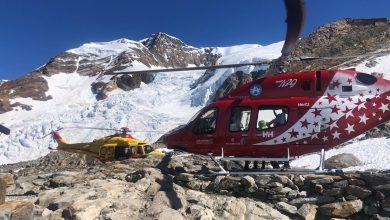Photo of Monte Rosa, alpinisti scivolano sul Lyskamm