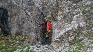 Photo of Presolana: soccorsa alpinista caduta lungo la via normale