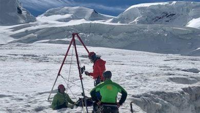 Photo of Escursionista recuperata dopo 2 notti in un crepaccio sul Monte Rosa