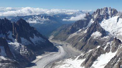Photo of Monte Bianco. In un video l'inesorabile ritiro della Mer de Glace