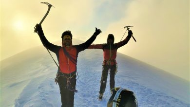 Photo of Sul Monte Bianco da soli, impresa per gli atleti amputati Andrea Lanfri e Massimo Coda