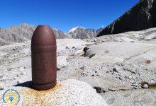 """Photo of SAT: """"Attenzione ai reperti bellici sui ghiacciai"""""""