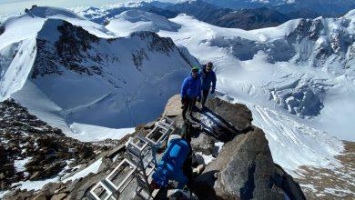 Photo of Monte Rosa. Ricollocata la nuova croce sulla Punta Dufour
