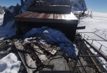Photo of Monte Bianco. Rimosse 8 tonnellate di rottami emersi tra i ghiacci