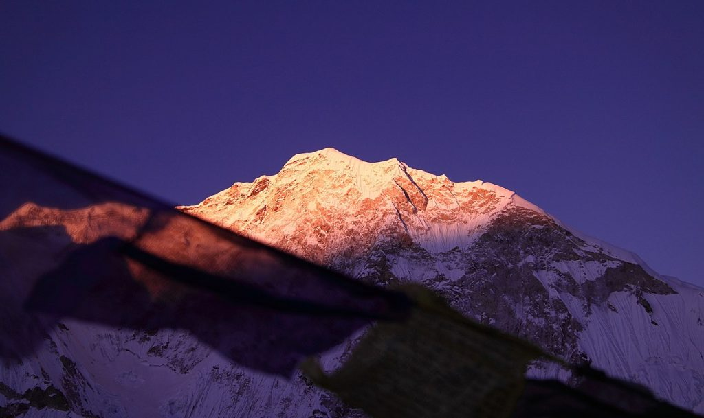 baruntse, nepal